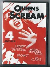 QUEENS OF SCREAM (2016 DVD) 4 Movie Thrill-Fest LIKE NEW