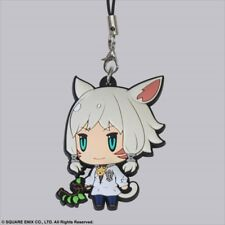 Square Enix Trading Rubber Strap 6 Cellphone Charm Final Fantasy XIV 14 Y'shtola