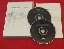 Coldplay - Live 2003 + Insert! (DVD, 2003, Amaray Includes Audio CD)