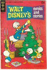 Walt Disney's Comics and Stories #364 VG (4.0) 1971 Carl Bark's reprint.