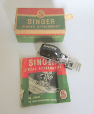 Singer Zigzag Attachment 160620 Sewing Machine 1950 Adjustable  with  Booklet