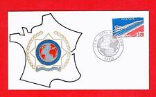 FDC-SUPERSONIC CONCORDE-POLICE-AMICALE- 1976