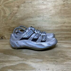 PEARL IZUMI Vagabond R3 Women's Road Cycling Shoes Size 8 Silver 5074
