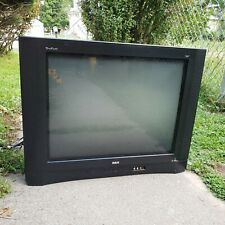 "Vintage RCA 27F554T TRUFLAT Screen 27"" CRT TV Retro Gaming Television S-Video"