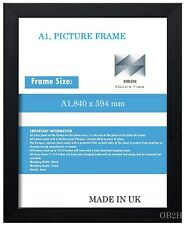 A1 BLACK PICTURE FRAME, SIZE(840 mm x 594 mm)