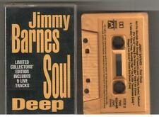 JIMMY BARNES SOUL DEEP Rare Limited Collectors Edition Cassette Tape