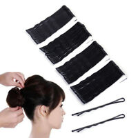 240X Haarnadeln Haarnadeln Hair Clips Flat Top Bobby Pins Grips Salon Haarspange