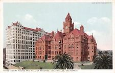 Los Angeles~Court House~Hall of Records~Private Train NELA 1925~Detroit Pub Co