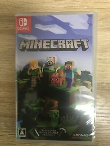 Minecraft Nintendo Switch Games Japanese/English/French/Other Tracking NEW