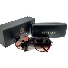 9be90d82287 Versace VE4324BA-109-13 Oversized Women s Bordeaux Frame Brown Lens  Sunglasses