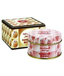Cambodi Oudh Ma'al Attar by Al Halal (Al Haramain) Home Fragrance / Incense 50g