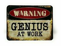 Warning Dont Touch S#$/& Man Cave Decor SIGN 4x6 Magnet BAR TOOLBOX Refrigerator