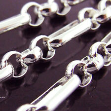 NECKLACE CHAIN GENUINE HALLMARKED REAL 925 SOLID STERLING SILVER BELCHER LINK