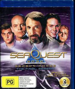 Seaquest Dsv 2032 Season Three 3 The Final Season Blu-ray NEW