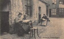 VLAAMSCHE BELGIUM KANTWERKSTERS GERMANY MILITARY FELDPOST POSTCARD 1916 (88)