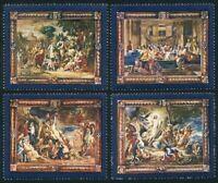 Malta 526-529,MNH.Michel 562-565. Flemish tapestries.Nicholas Pousin,Rubens.