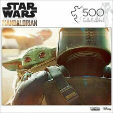 NEW Disney Star Wars: The Mandalorian The Child 500 Piece Puzzle Baby Yoda