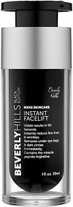 Beverly Hills Mens Instant Facelift and Eye Tuck Serum for Dark Circles