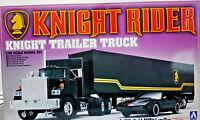 KITT Knight Rider Trailer Truck Supercar Season One - Aoshima Kit 1:28