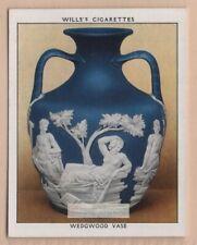 1790 Wedgewood Jasper Ware 'Portland Vase' 1930s Trade Ad Card