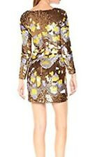 BNWT FRENCH CONNECTION METALLIC ZELDA SEQUIN DRESS SIZE 8 RRP £250.00 NEW