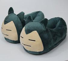 pokemon go Snorlax  indoor slippers full surround fuzzy shoes warm Anime slipper