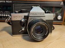 Praktica MTL 5B with Fujinon 55mm lens