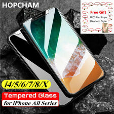 Tempered Glass Film Screen Protector For iphone 12 pro 11 7 XR X 5 For iphone SE