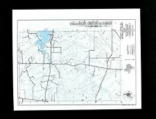 Texas Map McMullen County Tilden Choke Canyon Lake Loma Alta Oil Fields Highways