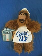 "1988 ""Cookin' with ALF"" PUPPET Burger King Promo 11"" Chef 80's Alien Sitcom Star"