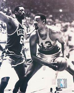 Bill Russell vs Wilt Chamberlain Boston Celtics vs 76ers picture 8 x 10 photo #2