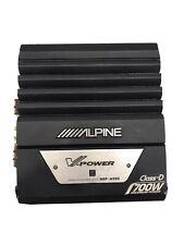 Alpine MRP-M350 Mono Subwoofer Amplifier (SPG038916) No Reserve!!