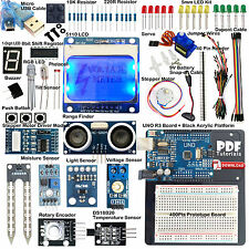 ARDUINO-COMPATIBLE Starter Kit UNO 5110 LCD Distance Light Soil Moisture Sensor