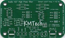 Audio TBF Filtre passe-haut avec équilibré ou déséquilibré D'ENTRÉE PCB seulement À faire soi-même