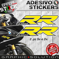 Adesivi/Stickers compatibili BMW S 1000 RR 08-16 HP4 MOTORRAD Yellow TOP QUALITY