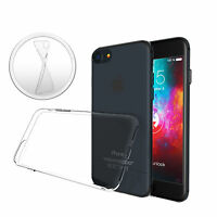 ULTRA SLIM Case für iPhone 7 Plus Silikon Hülle Schutzhülle TPU Transparent Dünn