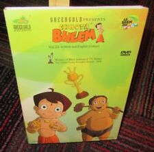 CHHOTA BHEEM VOLUME 22 ANIMATED DVD, AS SEEN ON POGO, IN HINDI & ENGLISH, GUC