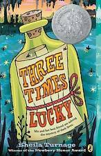 Three Times Lucky (Mo & Dale Mysteries) by Turnage, Sheila