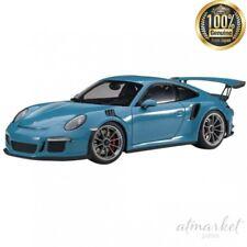 Porsche 911 (991) GT3 RS 2016 azul coche modelo 1 18 Autoart