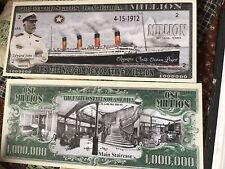 RMS Titanic Novelty Bill with a semi rigid protector