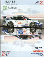 2005 Alex Job Racing Porsche 911 GT3 RSR ALMS postcard