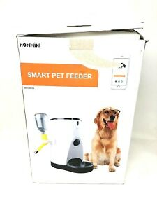 Hommini Smart Feeder, Automatic Pet Feeder with 110° HD Camera Video Voice