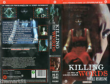 Killing Words  Parole Assassine (2004) VHS CGG  Laura Manà  - VHS