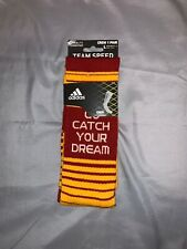 """Adidas RG3 Draft Day Team Speed Crew Sock Redskins """"Catch Your Dream"""" Exclusive"""