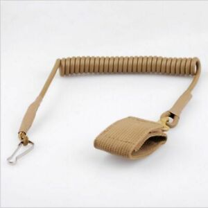 Backpack Molle System Tactical Anti-lost Army Fans Lanyard Keychain Elastic Rope