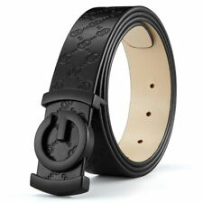 Men Luxury Belt Cowhide Genuine Leather Straps Designer Belts Automatic Buckle