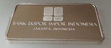 Lingote de plata nuevo, sin usar 40 Grms acuñada por John Pinches Bank Indonesia