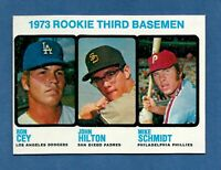 1973 Topps MIKE SCHMIDT Rookie Card Philadelphia Phillies #615 NM to NM-MT!