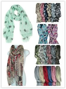 105 pieces Chiffon Lady Scarves multiple Designs for JOBLOT Wholesale
