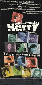 Deconstructing Harry Woody Allen VHS Viewed Once Excellent Condition
